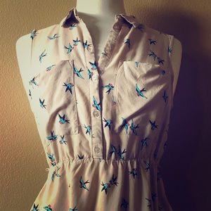 Peach colored H&M Dress